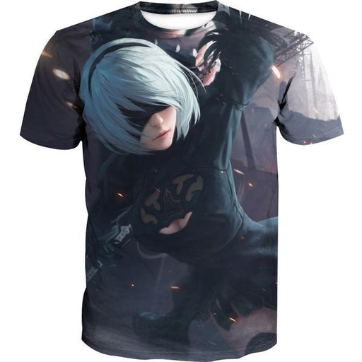 Artistic Nier T-Shirt - Nier Video Gaming Clothes