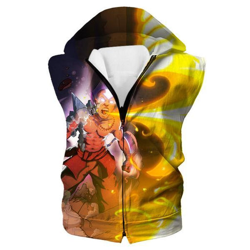 Firebending Aang Hooded Tank - Avatar the Last Airbender Avatar State Clothes