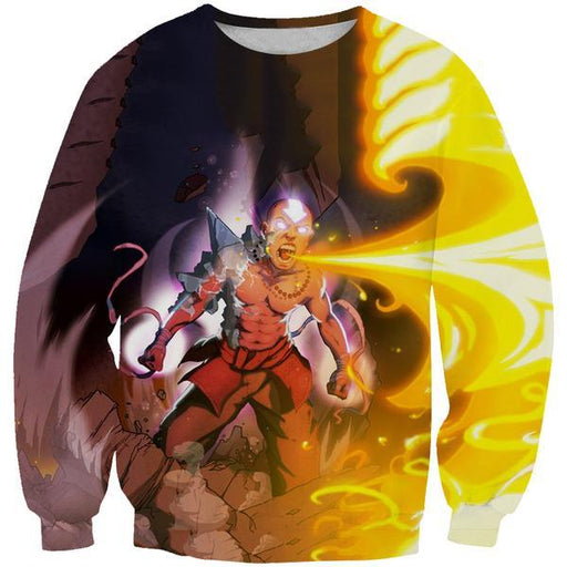 Firebending Aang Sweatshirt - Avatar the Last Airbender Avatar State Clothes