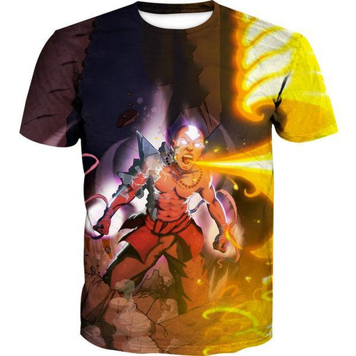 Firebending Aang T-Shirt - Avatar the Last Airbender Avatar State Clothes