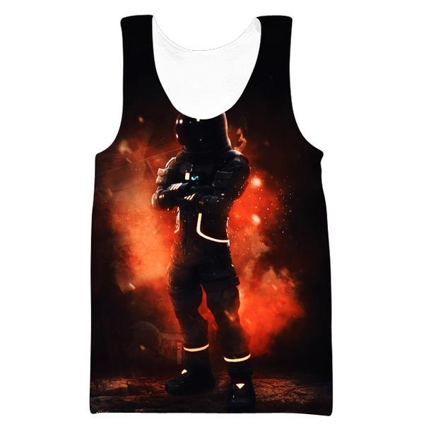 Fortnite Astronaut Skin Tank Top - Fortnite Clothing and Gym Shirts