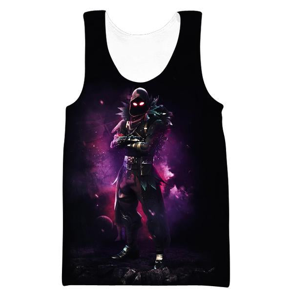 Fortnite Clothes - Fortnite Raven Tank Top - Gaming Clothing