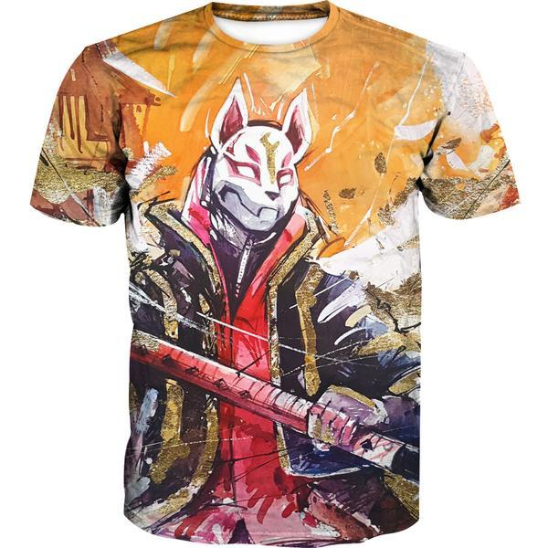 Fortnite Drift Skin T-Shirt - Fortnite Clothing