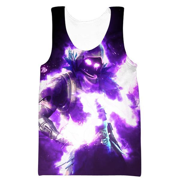 Fortnite Gym Shirts - Epic Raven Tank Top - Fortnite Clothes