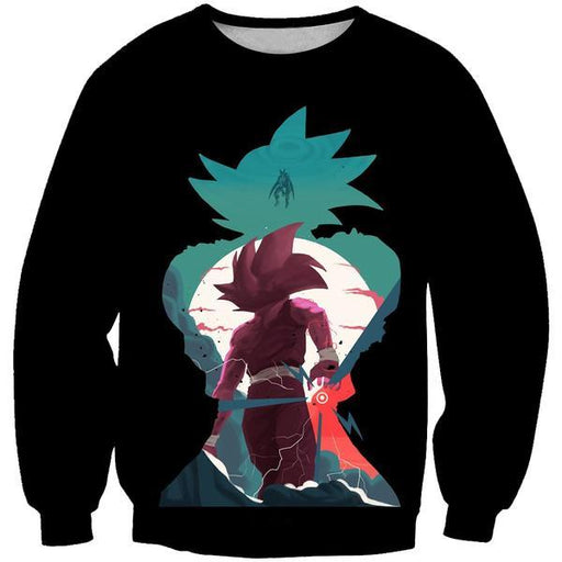 Goku and Gohan Sweatshirt - Dragon Ball Z Clothing
