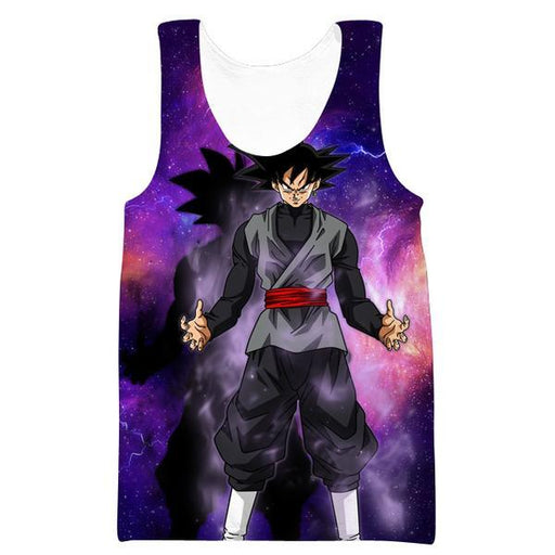 Goku Black Space Tank Top - Dragon Ball Super Shirts