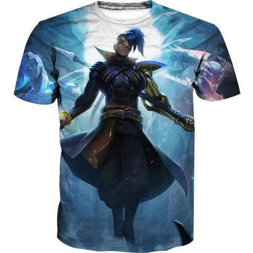 League of Legends Kayn Skin T-Shirt - Kayn Clothes