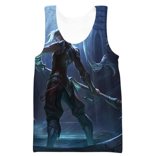 League of Legends Kayn Tank Top - Kayn Clothes