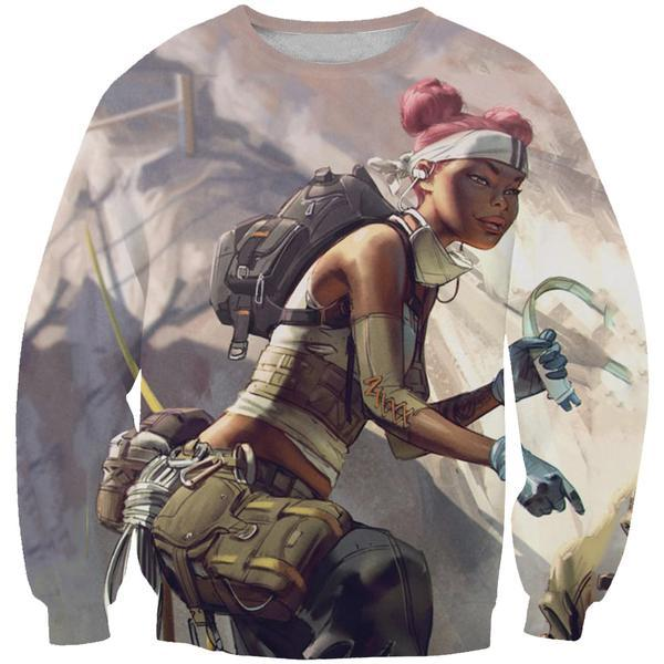 Lifeline Apex Legends Sweatshirt - Apex Legends Clothing