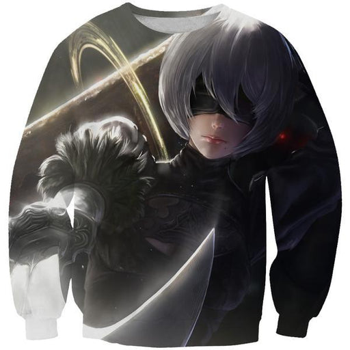 Nier Sword Sweatshirt - Video Game Clothing