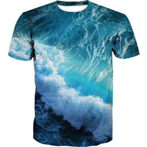 Ocean Storm T-Shirt - Epic Printed Clothes