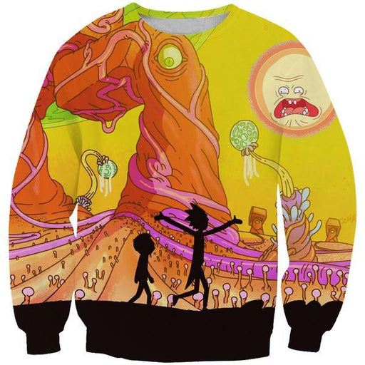 Rick and Morty Clothes - Rick and Morty Adventure Sweatshirt