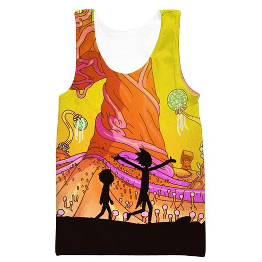Rick and Morty Clothes - Rick and Morty Adventure Tank Top