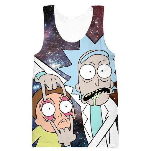 Rick and Morty Tank Top - Rick and Morty Eyes Clothes