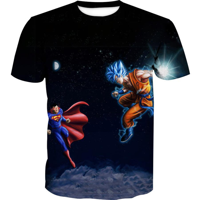 Superman vs Goku T-Shirt