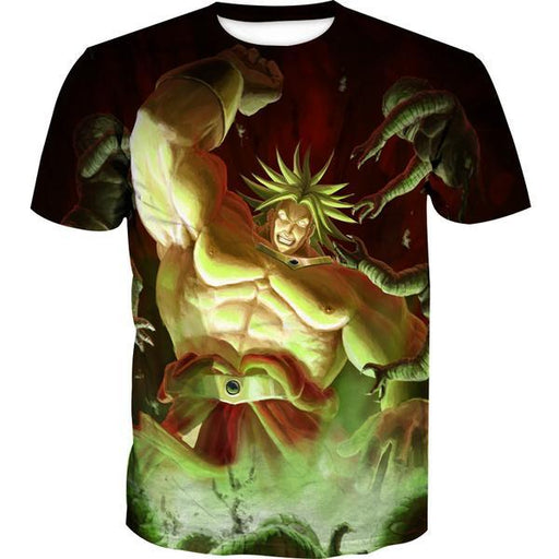 Super Saiyan Broly T-Shirt - Dragon Ball Movie Clothes