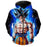 Ultra Instinct Goku Dragon Ball Super Zip Up Hoodie - DBZ Clothes