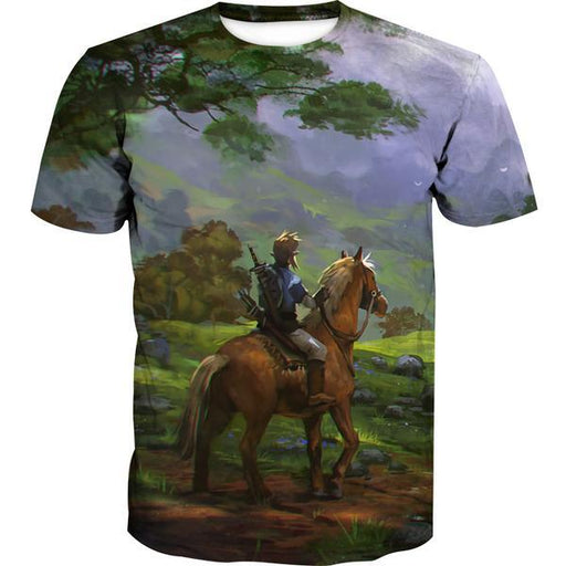 Zelda Horse T-Shirt - Zelda Gaming Clothes