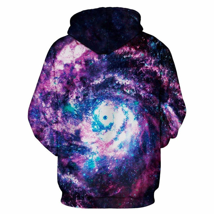 Eye of the Storm Galaxy Hoodie Pullover - Space Hoodies