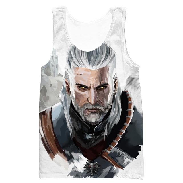 The Witcher Hoodie - Geralt Face Hoodie and Clothing