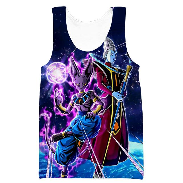Beerus and Whis Hoodie - Dragon Ball Super Beerrus Clothes