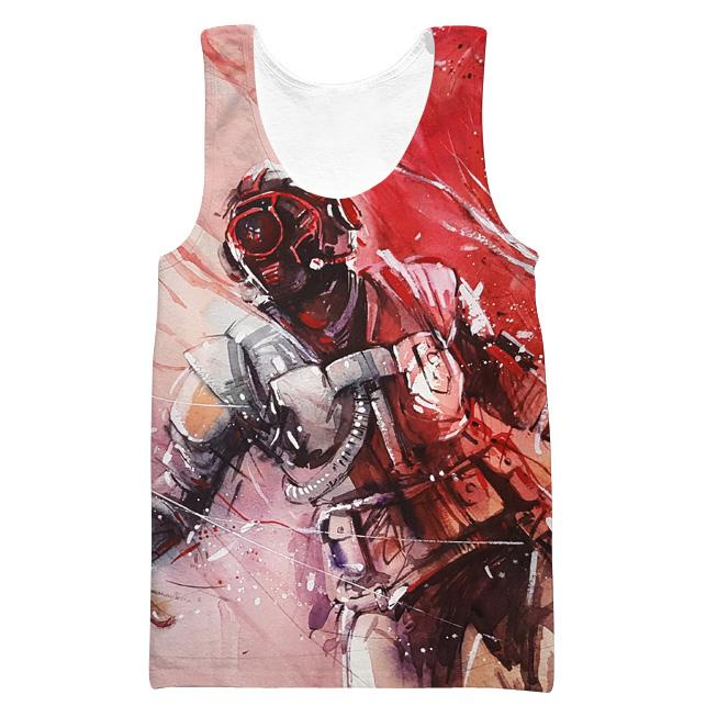 Fortnite The Visitor Skin Tank Top - Fortnite Clothing and Gym Shirts