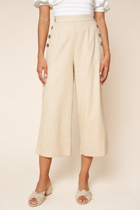 Maya Wide Leg Cropped Pants
