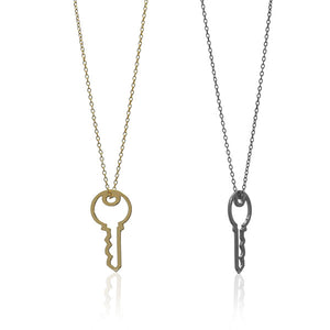 Key To Success Necklace Gold