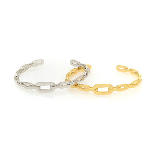 Ribbon Chain Cuff