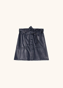 Emilou Leather Skirt