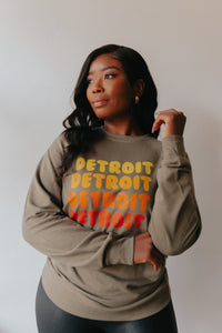 Retro Detroit Crewneck