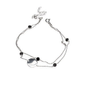 Dua Disc Chain Anklet