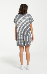 Launa Swirl Tie Dye Dress