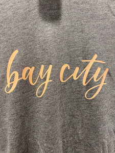 Bay City Script Tee