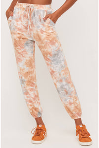 Tie Dye Brushed Joggers
