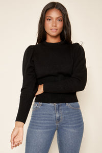 Sierra Puff Sleeve Sweater