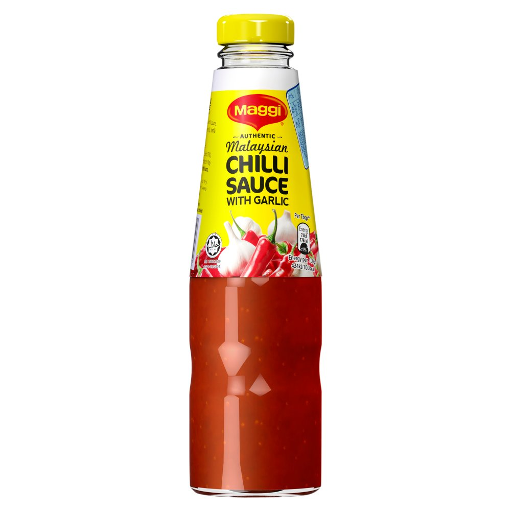 Maggi Authentic Malaysian Chilli Sauce with Garlic 305g - The Halal Food Shop