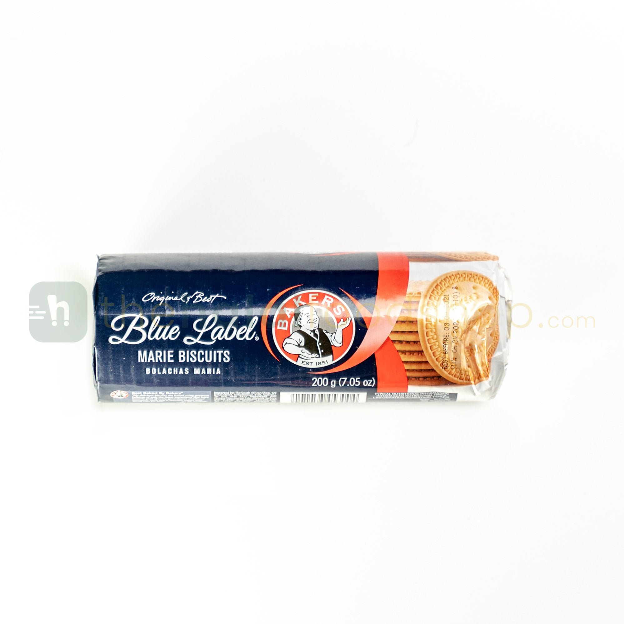 Bakers Blue Label Marie Biscuits (200g)