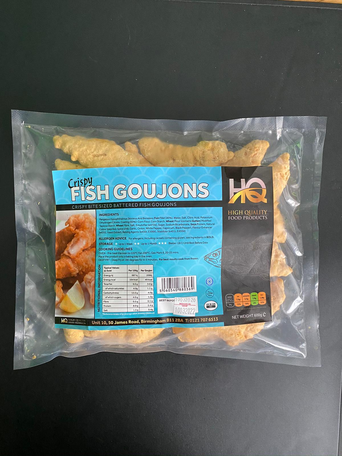 HQ Foods: Fish Goujons (600g)