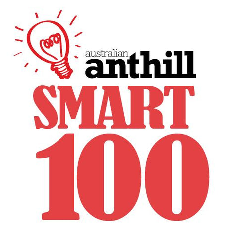 Water Saving Showers Australia | Cullector Ultra Efficient Shower Voted Number 20 in Australian Anthill Smart 100 Awards