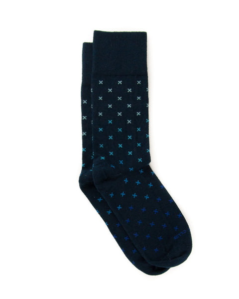 The Tyrian - Navy - Sock Club Store