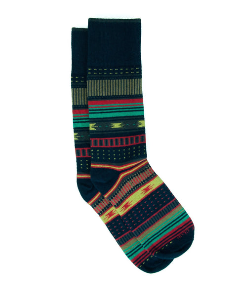 Sock - The Homesteader - Navy
