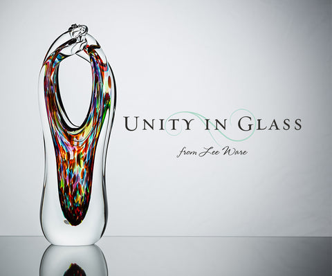 The Glass Alternative to a Sand Ceremony or Unity Candle | Unity In ...