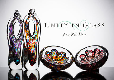 The Glass Alternative to a Sand Ceremony or Unity Candle | Unity ...