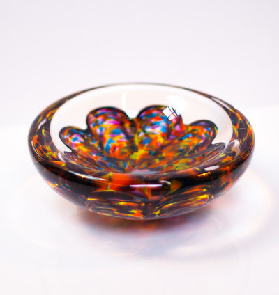 Step 2.  SCALLOPED INFINITY BOWL (Purchase does not include color crystals)