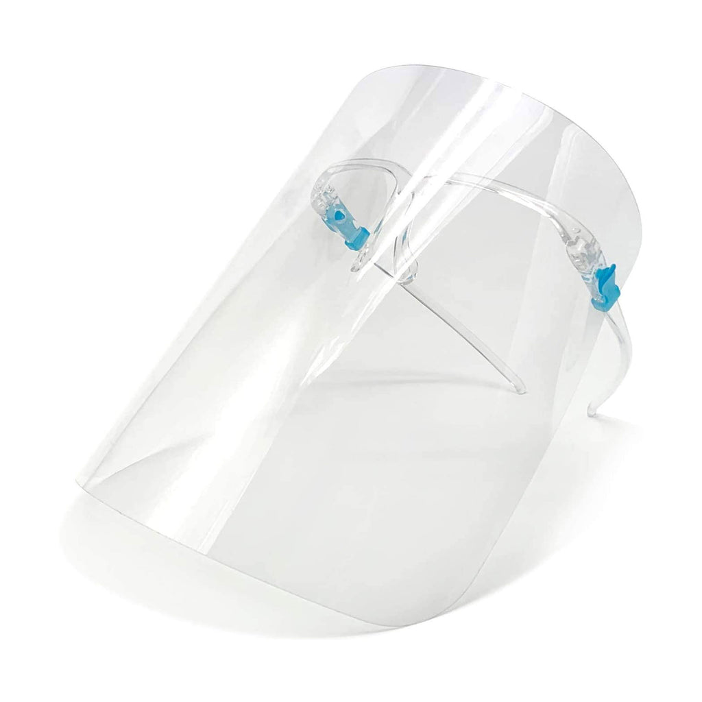 Face Shield with Glasses Frame (Pkg of 10)