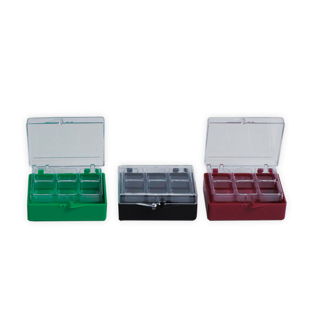 "2"" Rigid Boxes with V6 Plastic Inserts"