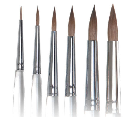 KOLINSKY Ceramist Brushes