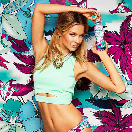 Jen Hawkins wears SOLLIS jewels for the new Mount Franklin 'Cozi' campaign