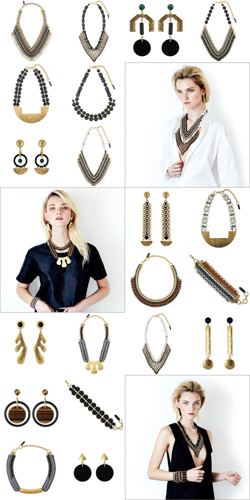 Aztec collection by Sollis jewellery